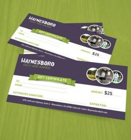 Waynesboro Golf & Games $25 Gift Certificate