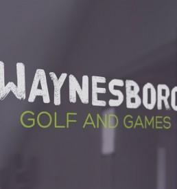 Waynesboro Golf & Games Car Decal