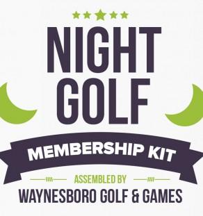 Night Golf Kit from Waynesboro Golf & Games