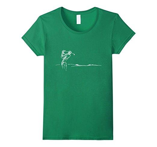 Women's Golf Sketch T-Shirt